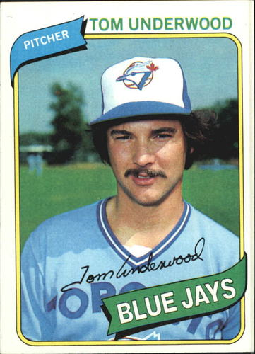 Photo of 1980 Topps #324 Tom Underwood