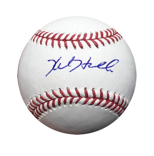 Kyle Hendricks Autographed Baseball