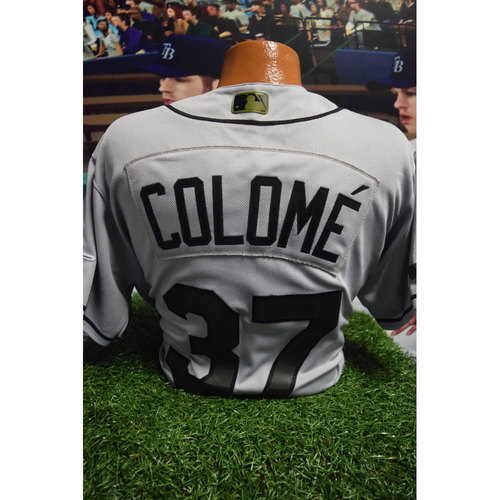 Photo of 2017 Memorial Day Game-Used Jersey: Alex Colome