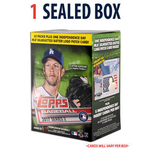 2017 MLB Series 2 Blaster Relic Box by Topps