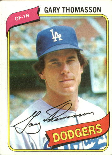 Photo of 1980 Topps #127 Gary Thomasson