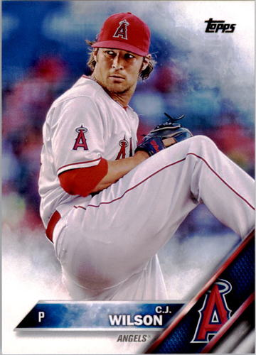 Photo of 2016 Topps #256 C.J. Wilson