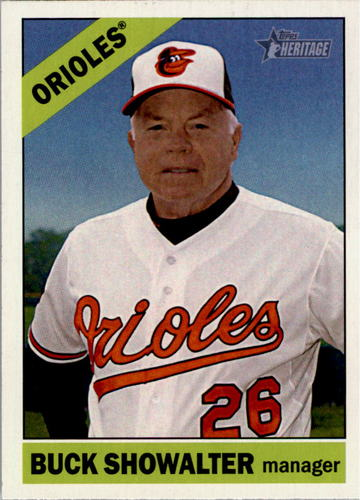 Photo of 2015 Topps Heritage #229 Buck Showalter MG
