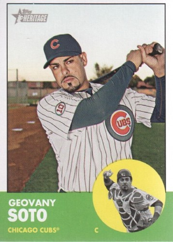Photo of 2012 Topps Heritage #81 Geovany Soto