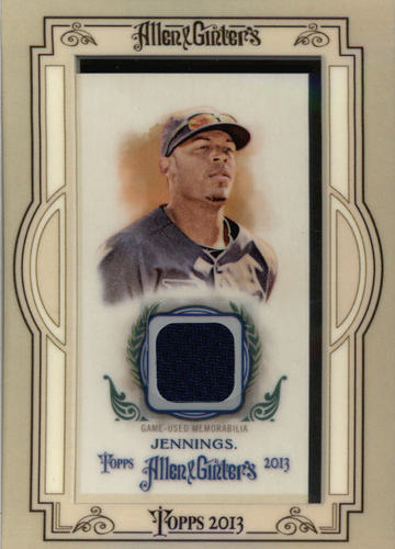 Photo of 2013 Topps Allen and Ginter Framed Mini Relics #DJ Desmond Jennings