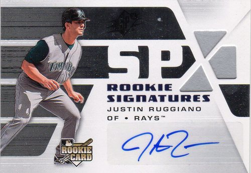 Photo of 2008 SPx Silver #140 Justin Ruggiano AU