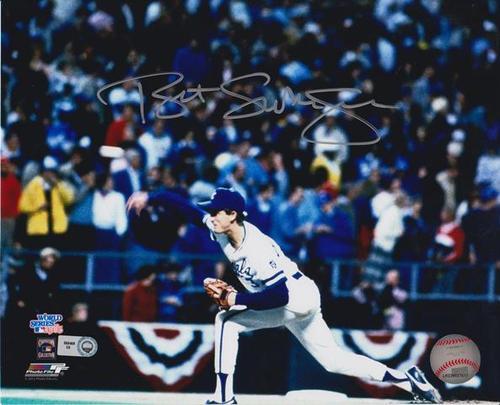 Photo of Bret Saberhagen Autographed 8x10