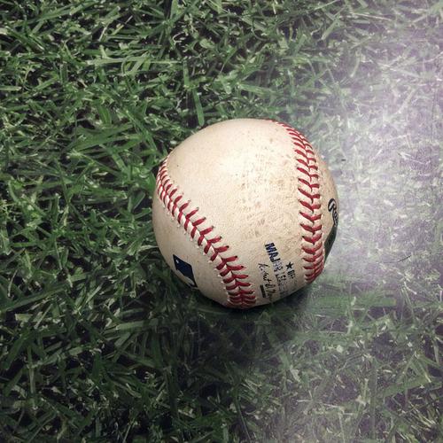 Photo of Game-Used Baseball WSH@MIL 06/25/16 - Gio Gonzalez to Jonathan Villar: Single