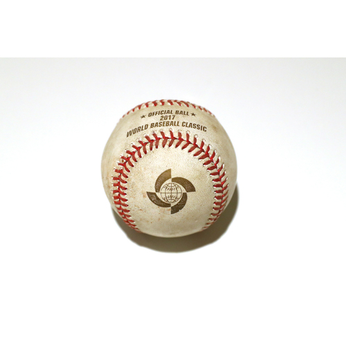 Photo of 2017 World Baseball Classic: Batter - Yangeris Solarte, Pitcher - Dellin Betances, Top of 7th, Single, Also Jose Altuve Groundout