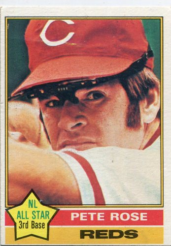 Photo of 1976 Topps #240 Pete Rose