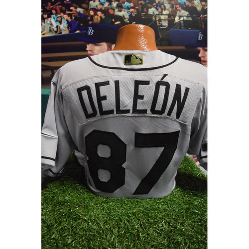 Photo of 2017 Memorial Day Game-Used Jersey: Jose De Leon