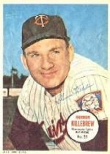 Photo of 1967 Topps Posters Inserts #23 Harmon Killebrew