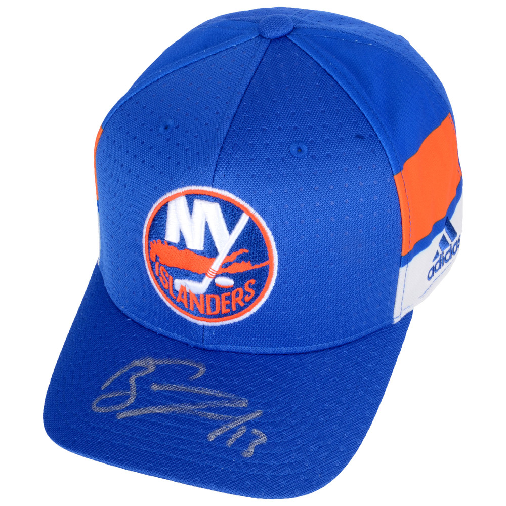 Mathew Barzal New York Islanders Autographed Cap - #1 of a L.E. of 13