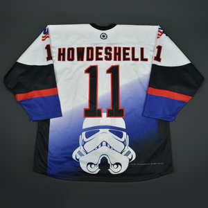 Keeghan Howdeshell - 2016 U.S. National Under-18 Development Team - Star Wars Night Game-Worn Jersey