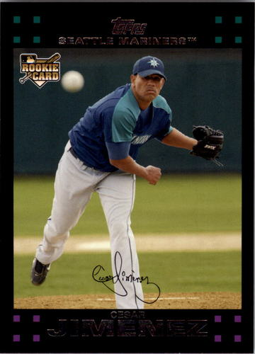 Photo of 2007 Topps #638 Cesar Jimenez RC
