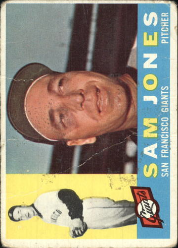 Photo of 1960 Topps #410A Sam Jones WB