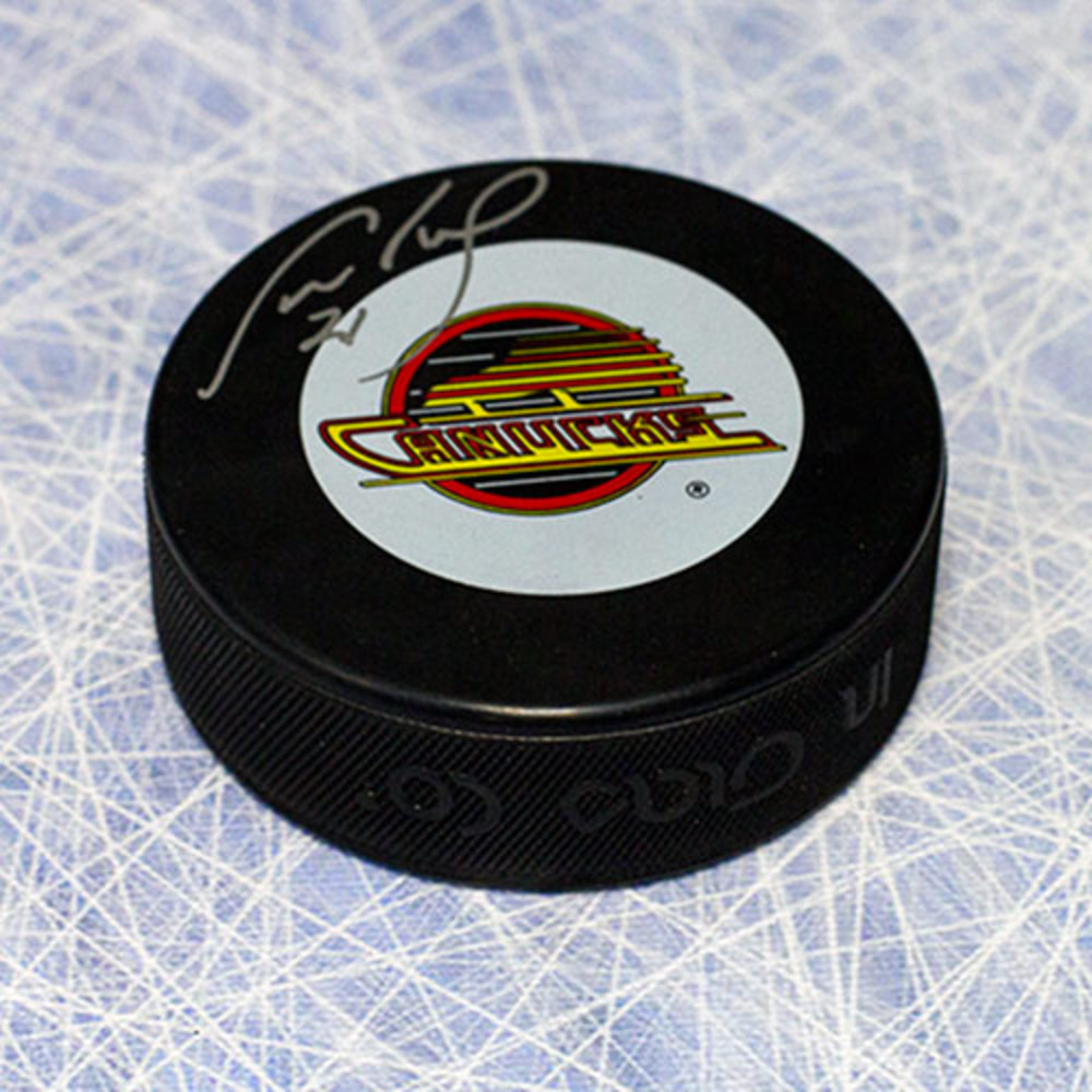 Cam Neely Vancouver Canucks Autographed Hockey Puck