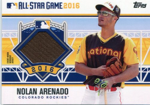 Photo of 2016 Topps Update All-Star Stitches #ASTITNA Nolan Arenado