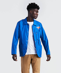 Toronto Blue Jays Club Coat Jacket Royal by Levi's
