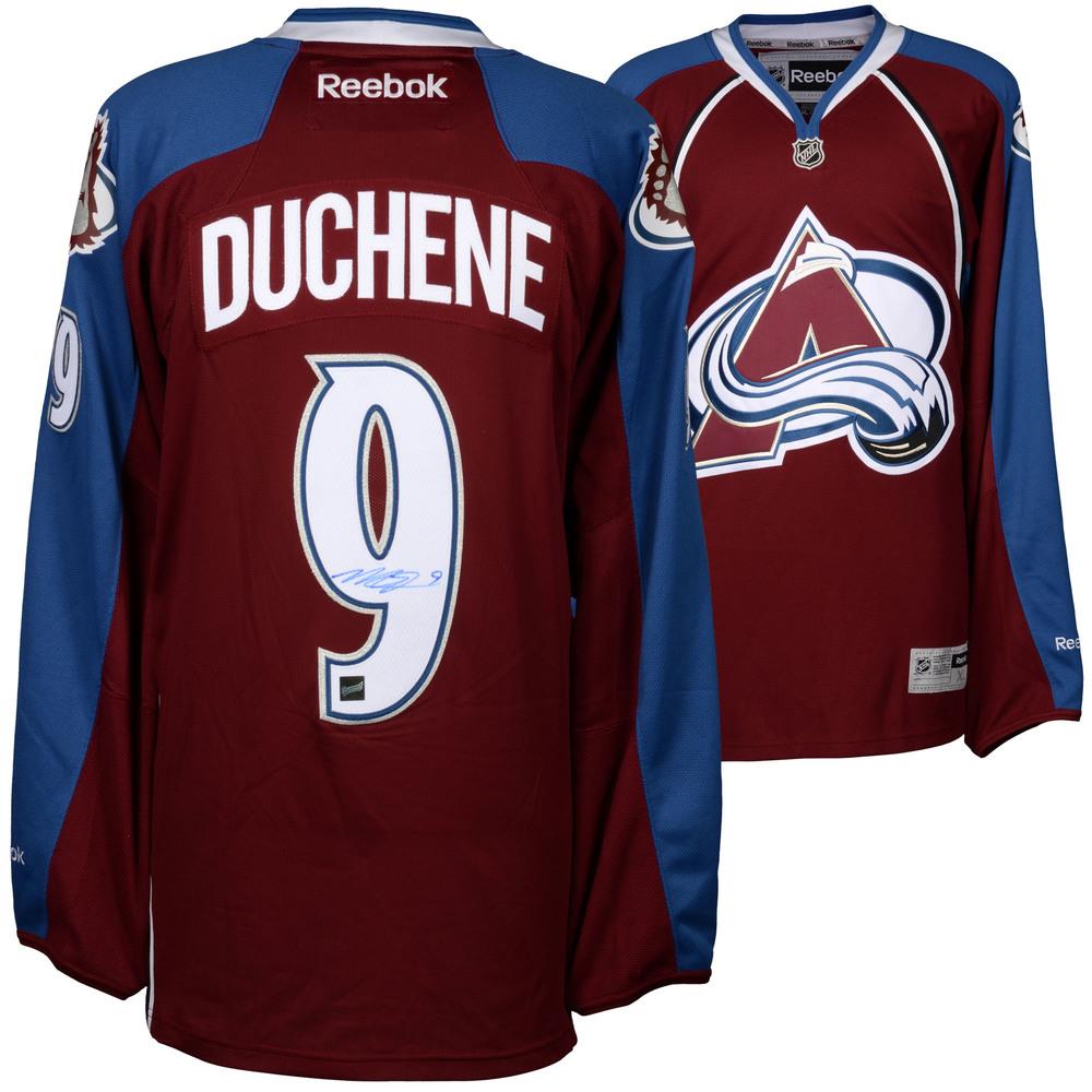 Matt Duchene Colorado Avalanche Autographed Burgundy Reebok Premier Jersey - Frameworth