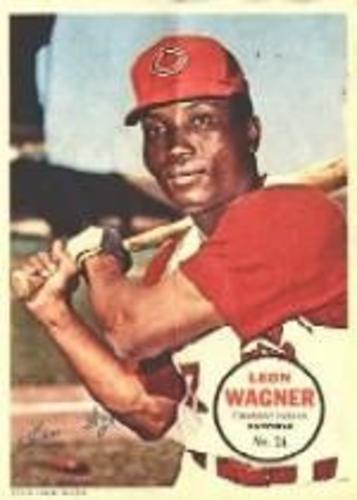 Photo of 1967 Topps Posters Inserts #24 Leon Wagner