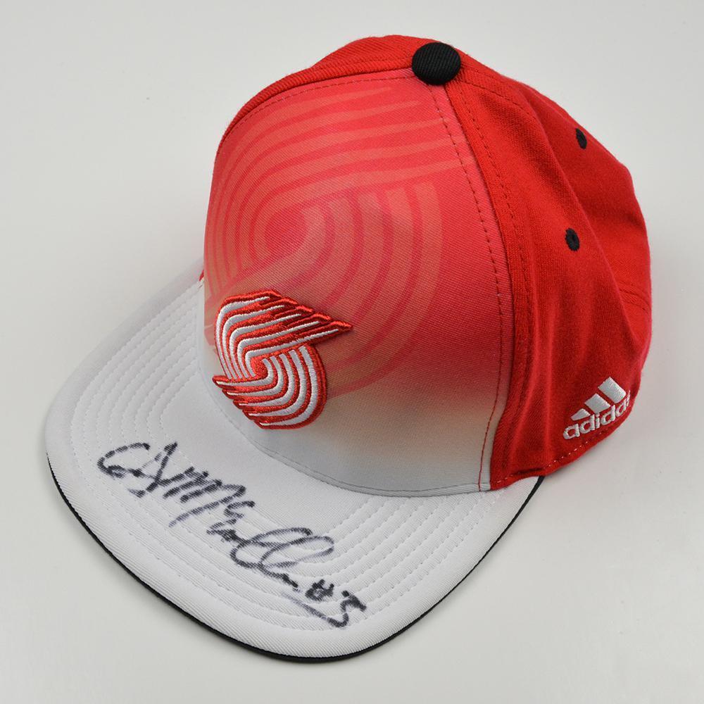 CJ McCollum - Portland Trail Blazers - 2013 NBA Draft - Autographed Hat