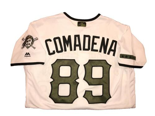 Photo of Jordan Comadena Game-Used Memorial Day Weekend Jersey