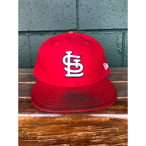 Photo of Cardinals Authentics: Lance Lynn Game-Used Home Red Cap