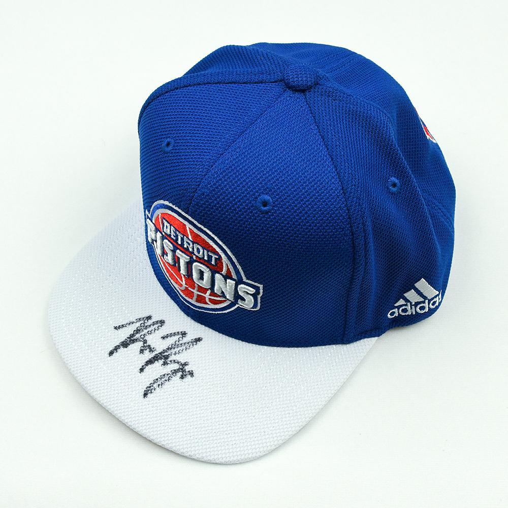 Bruce Brown - Detroit Pistons - 2018 NBA Draft Class - Autographed Hat