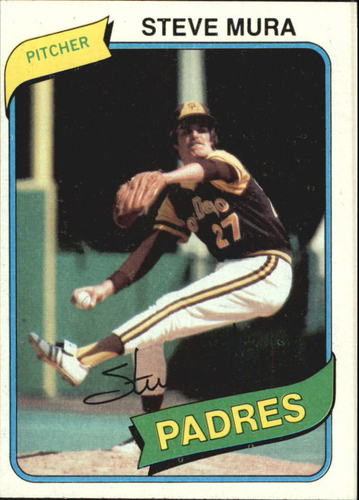 Photo of 1980 Topps #491 Steve Mura DP