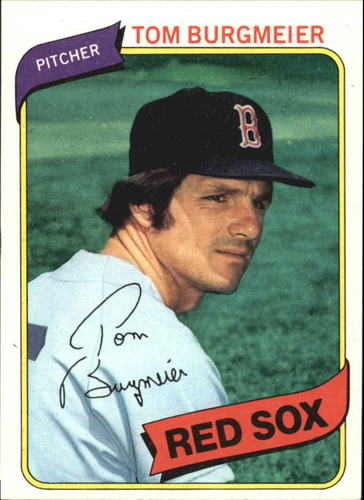 Photo of 1980 Topps #128 Tom Burgmeier