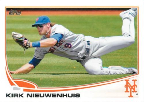 Photo of 2013 Topps #109 Kirk Nieuwenhuis