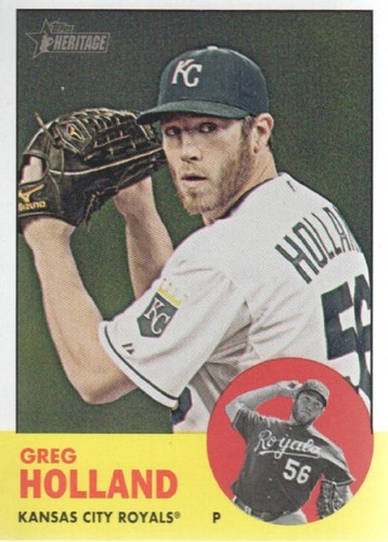 Photo of 2012 Topps Heritage #82 Greg Holland RC