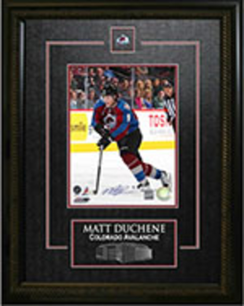 Matt Duchene - Signed & Framed 8x10 Etched Mat - Dark Skating
