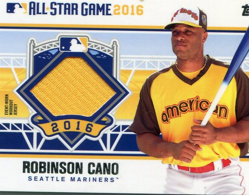 Photo of 2016 Topps Update All-Star Stitches #ASTITRC Robinson Cano