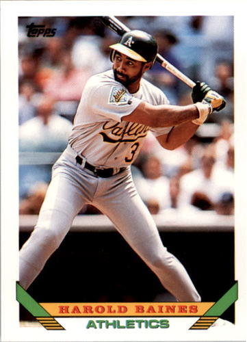 Photo of 1993 Topps #345 Harold Baines