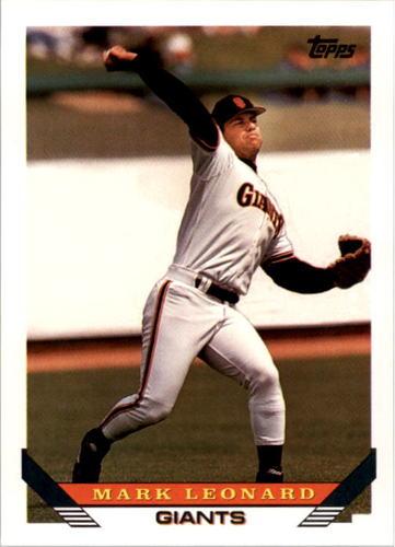 Photo of 1993 Topps #729 Mark Leonard