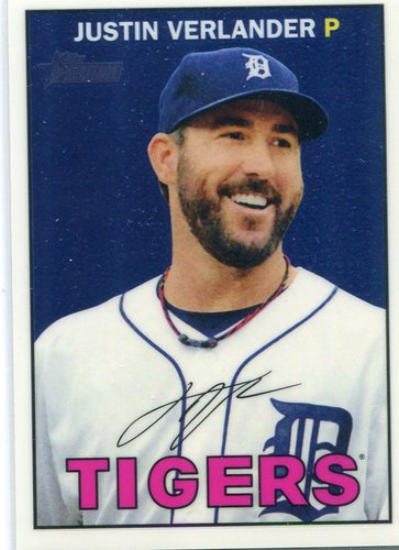 Photo of 2016 Topps Heritage Chrome #THC420 Justin Verlander