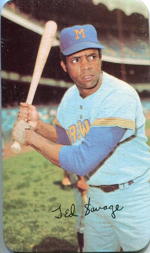 Photo of 1971 Topps Super #3 Ted Savage