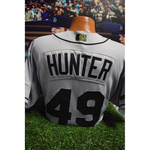 Photo of 2017 Memorial Day Game-Used Jersey: Tommy Hunter