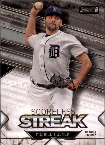 Photo of 2017 Stadium Club Scoreless Streak #SSMF Michael Fulmer