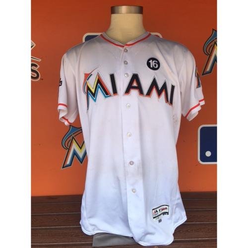 Photo of J.T. Realmuto Game-Used Jersey (2 HR's, 3 RBI's)