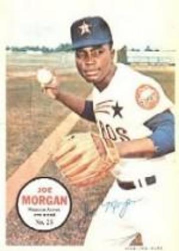 Photo of 1967 Topps Posters Inserts #25 Joe Morgan