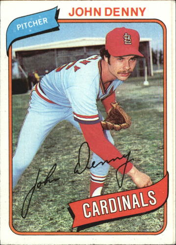 Photo of 1980 Topps #464 John Denny