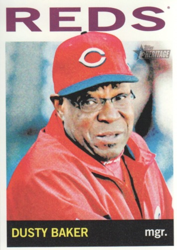 Photo of 2013 Topps Heritage #207 Dusty Baker