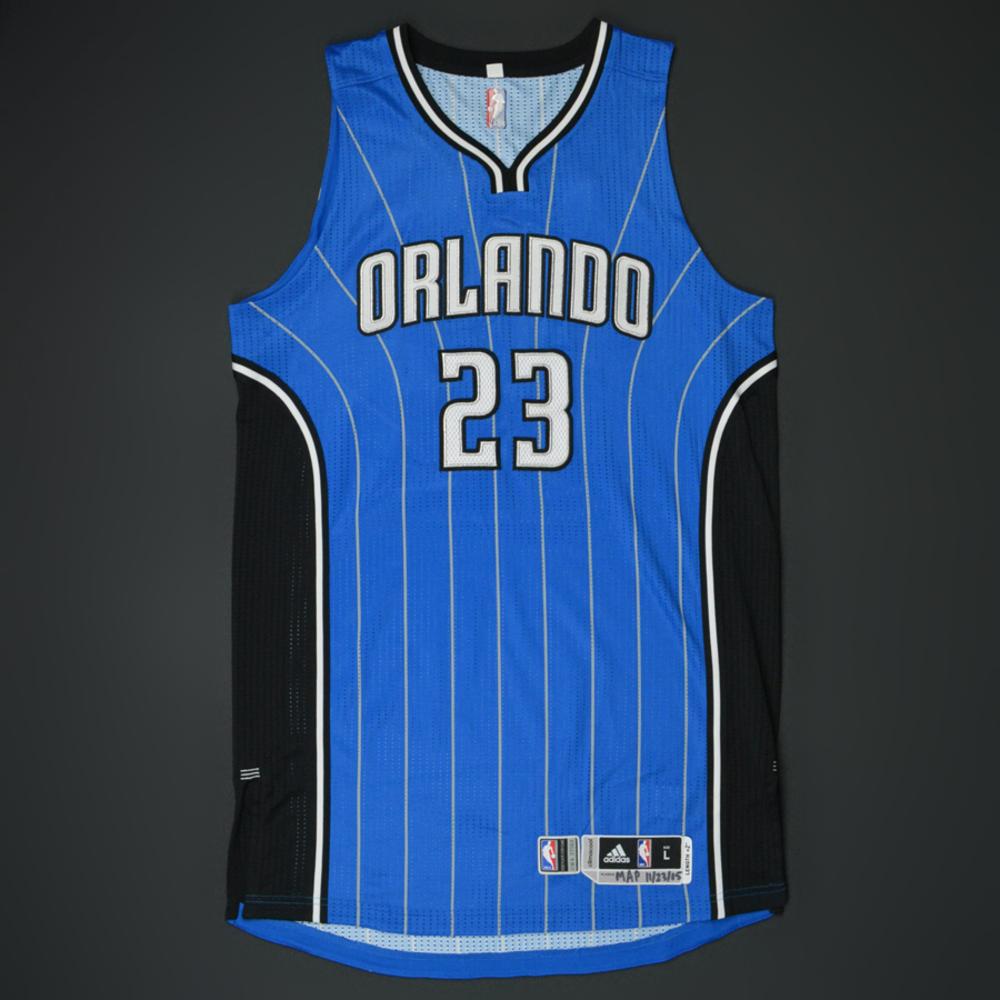 Mario Hezonja - Orlando Magic - Game-Worn Jersey - 2015-16 NBA Season