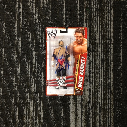 SIGNED Bad News Barrett Superstar #47 Action Figure