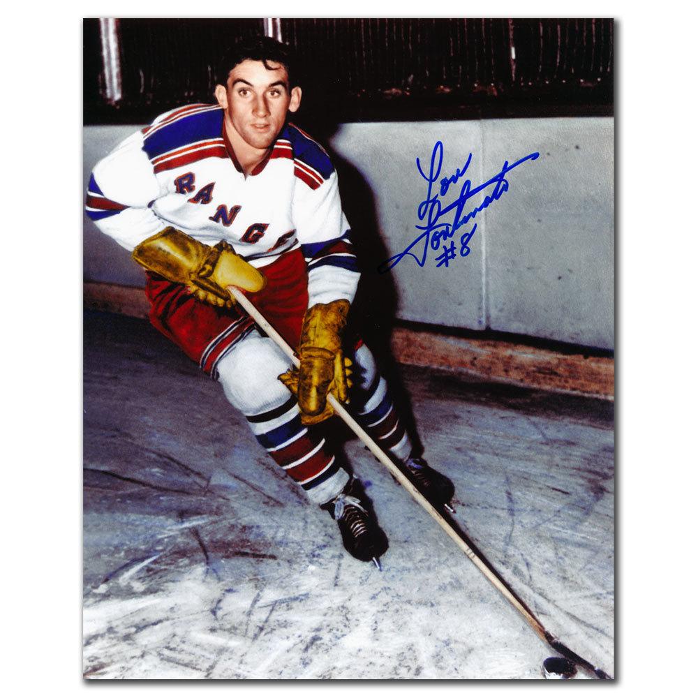 Lou Fontinato New York Rangers Autographed 8x10