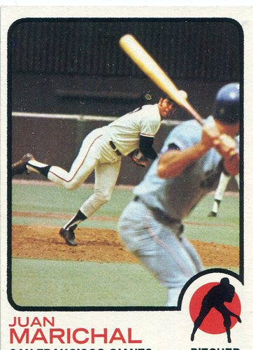 Photo of 1973 Topps #480 Juan Marichal Hall of Famer