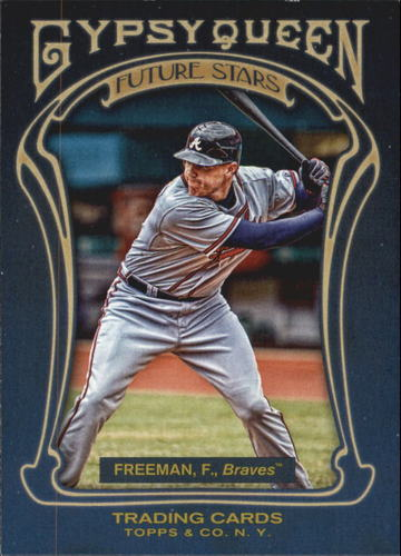 Photo of 2011 Topps Gypsy Queen Future Stars #FS4 Freddie Freeman